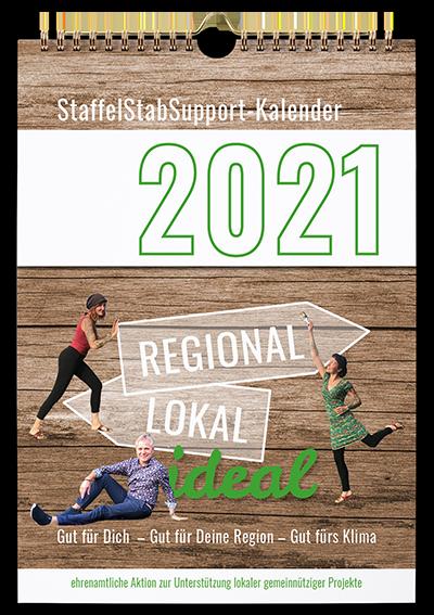 Kalender Titelblatt 2021 - regional lokal ideal